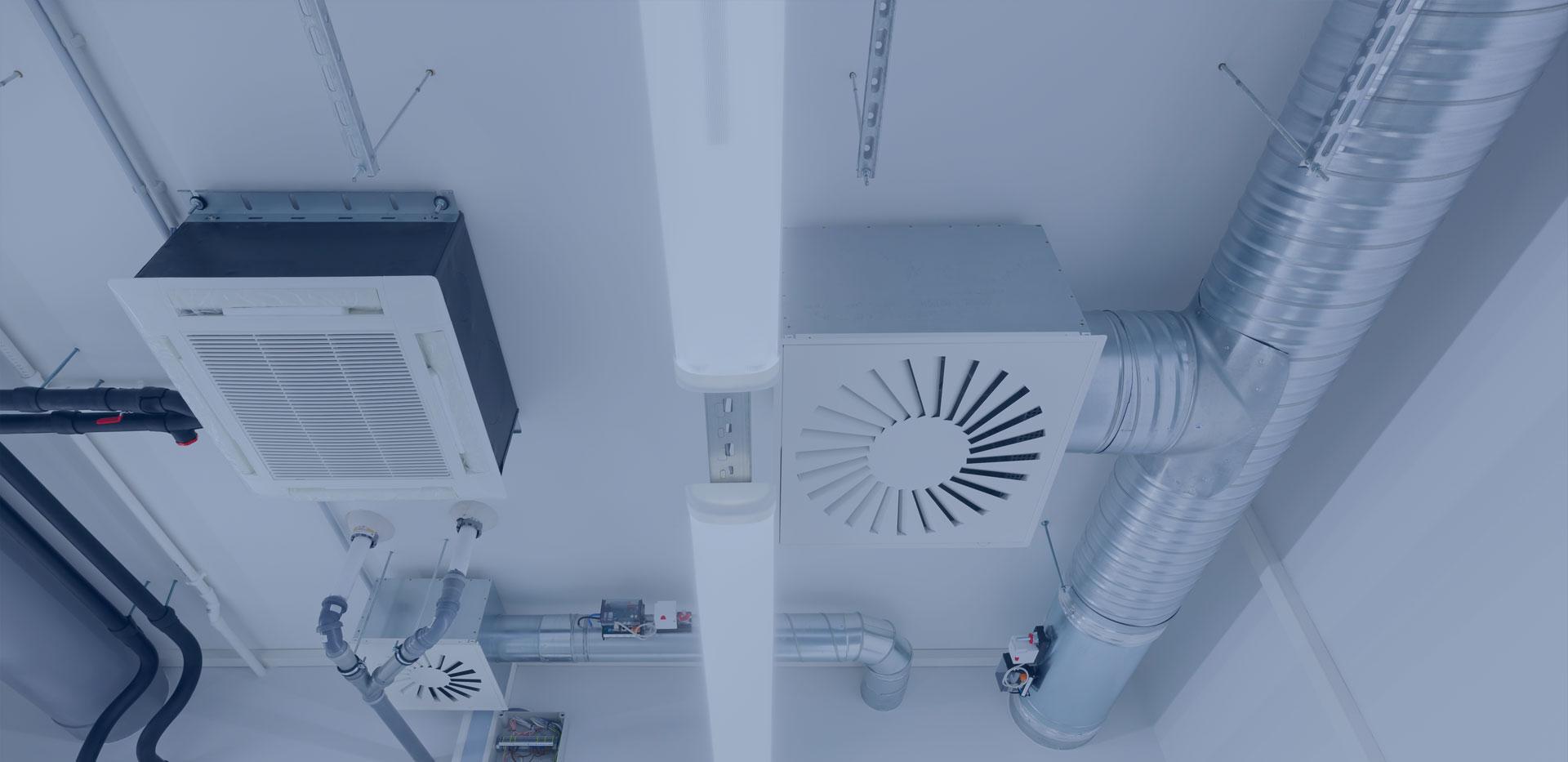 Instalacje sanitarne: klimatyzacja, wentylacja, ogrzewanie