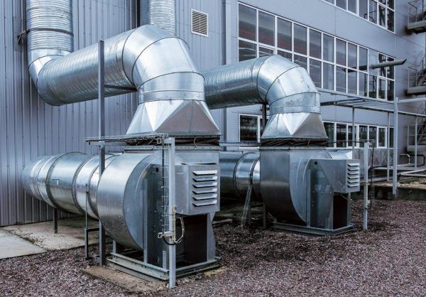 Wentylacja mechaniczna w zakładach przemysłowych i biurowcach